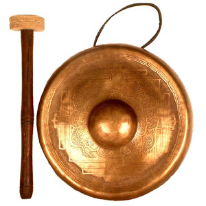 Musical Instrument Game Option - Gong