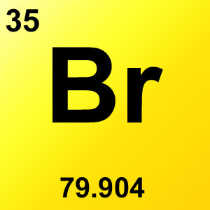 Periodic Table Elements Game Option - bromine
