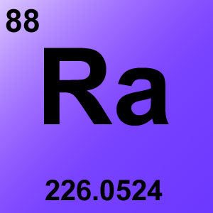 Periodic Table Elements Game Option - radium