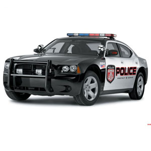 Vehicles Game Option - police car