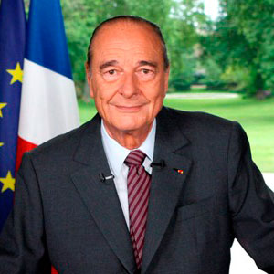 World Leaders Game Option - Jacques Chirac